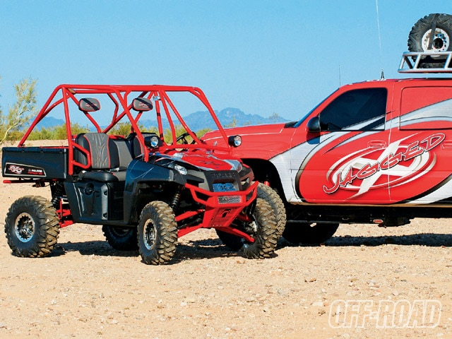 2009 Polaris Ranger XP - Polaris Done Jagged X Style