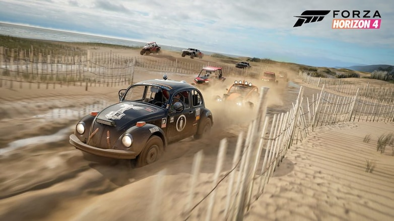 Go Off Road Racing with Forza Horizon 4
