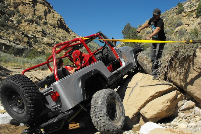 Whoops! Stuck Grand Wagoneer and Rubicon