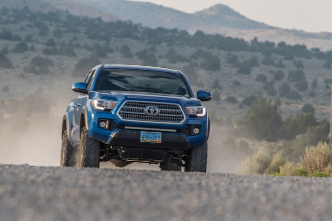 P-Metric Tires Can't Hang on the Trail With Mickey Thompson Baja MTZ P3 Light Truck (LT) Tires