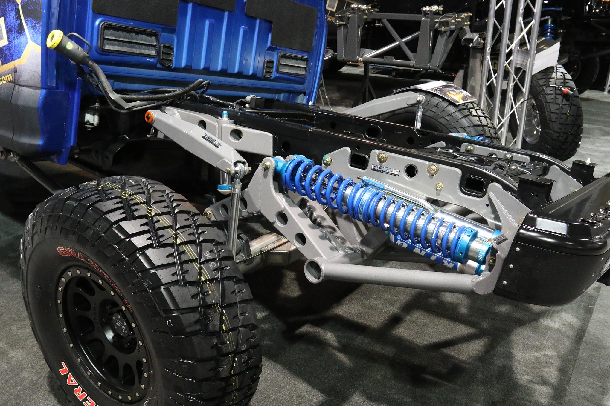 024 sema sidebar rogue cantilever suspension