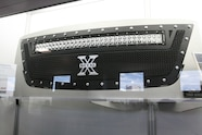 003 sema sidebar trex chevy colorado led grille