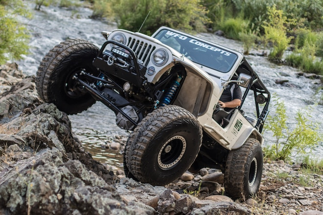 1983 Jeep Scrambler CJ-8: Scrambler Gets Over Easy