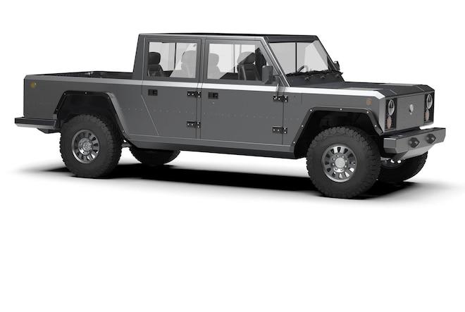 Bollinger Motors Electric Pickup Truck