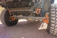 05 nissan frontier front axle
