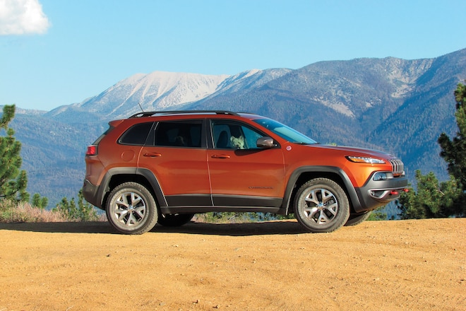 The Jeep Cherokee Trailhawk: why did it win Four Wheeler's 2015 Four Wheeler of the Year Award?