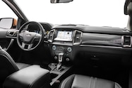 2019 Ford Ranger interior from right side