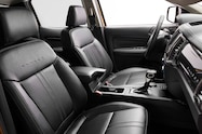 2019 Ford Ranger interior leather seats