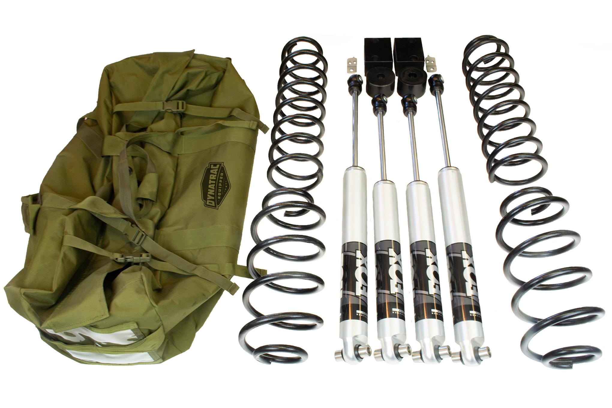004 parts rack dynatrac endurosport suspension lift kit system 2018 jeep wrangler jl