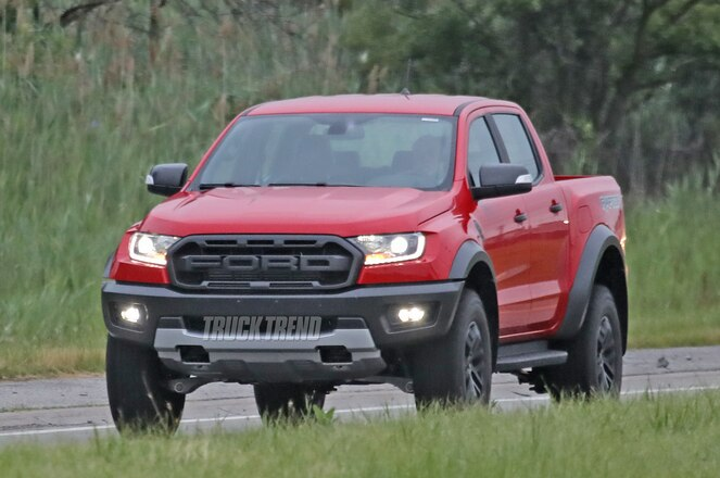 SPIED: Left-Hand-Drive 2020 Ford Ranger Raptor Undisguised