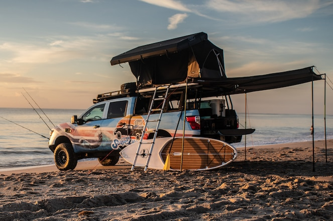 Nissan Goes to the Beach with the Titan Surfcamp