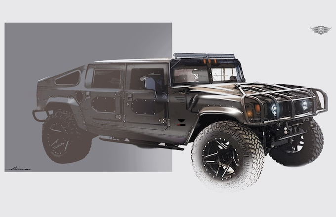Mil-Spec Automotive's Re-Envisioned Iconic AM General: If Having an Ordinary Hummer H1 Wasn't Cool Enough
