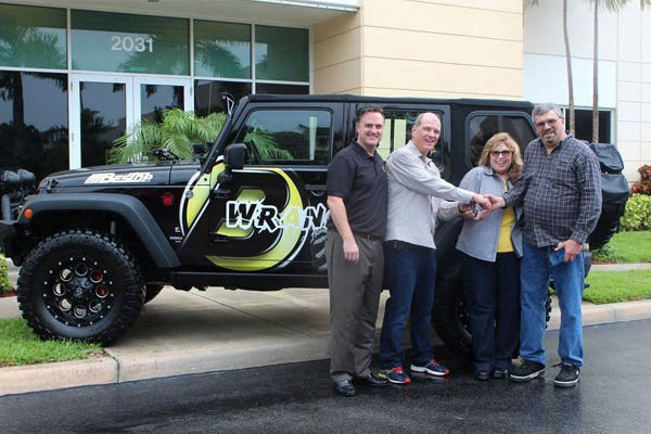 Morris 4x4 Center Bestop Jeep Wrangler Winner announced
