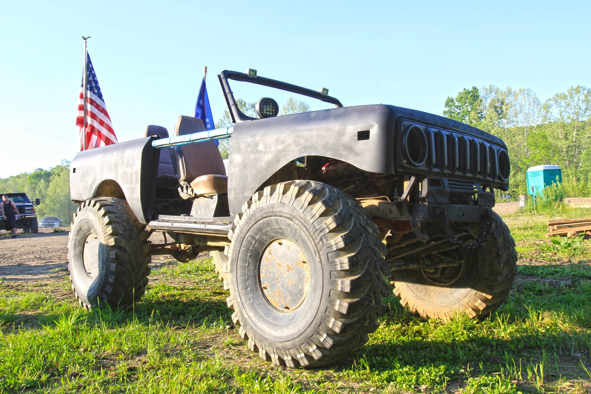 After some bodywork and 44-inch Ground Hawgs, this '79 Scout II was more than ready to tear through the mud.