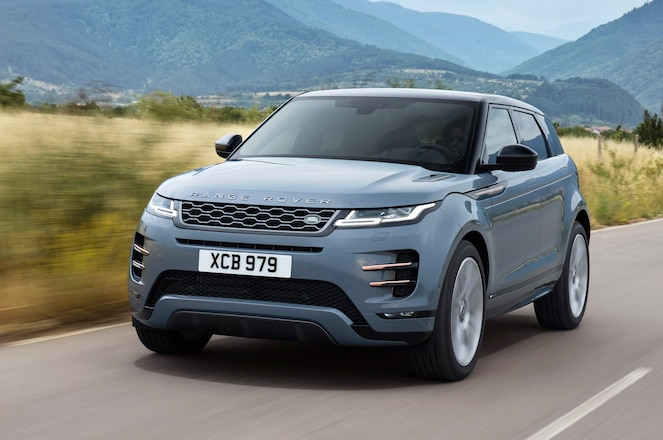 First Look – 2020 Range Rover Evoque