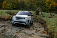 2020 range rover evoque exterior off road front quarter 04