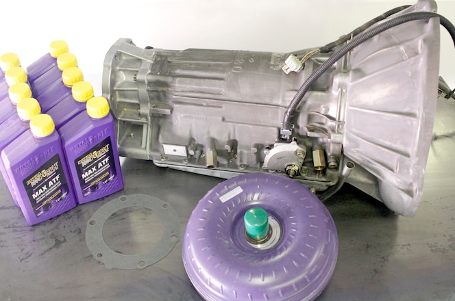 At-Home AW-4 Four-Speed Automatic Transmission Rebuild