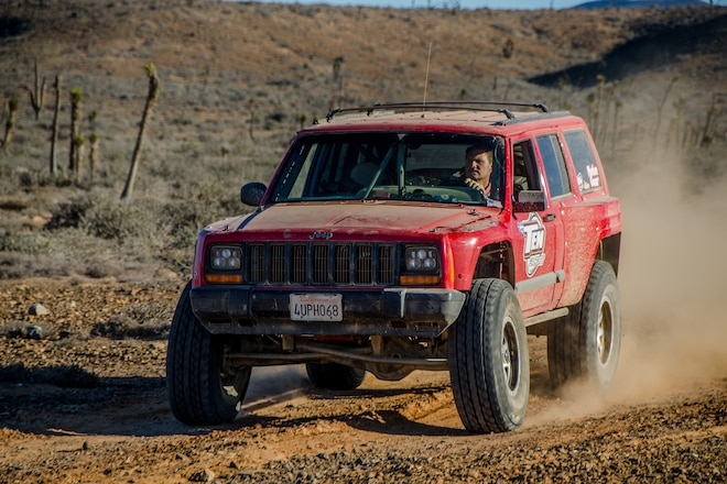 The TTB XJ - A Common Cherokee With an Uncommon Suspension