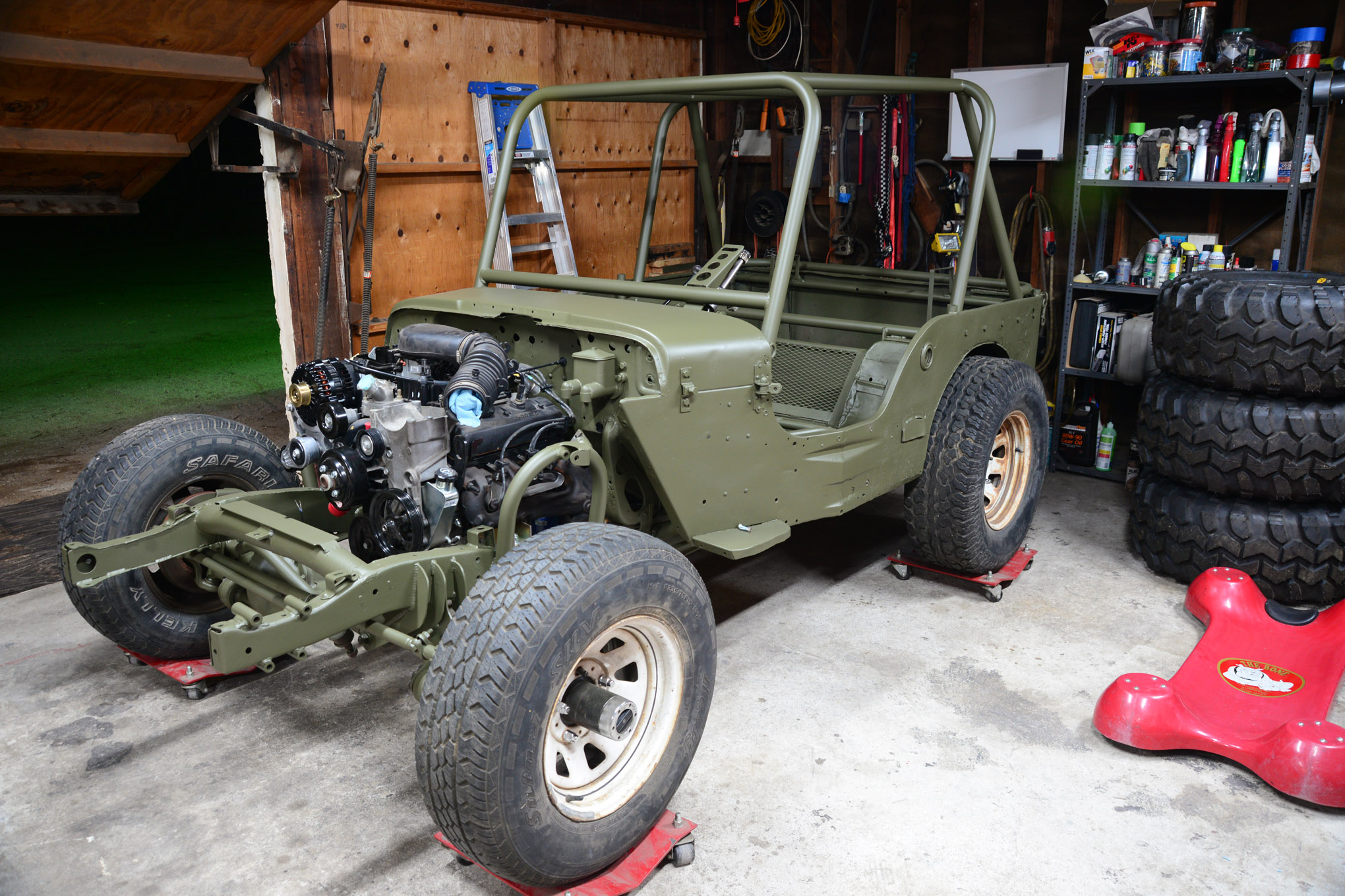 001 mailbag willys jeep flatfender cappa gpw mb