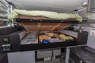 10 duramax camper bed storage