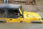 sideways call to action jeep in mud
