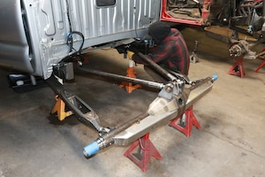 008 solo king currie back half suspension tacoma rearend on