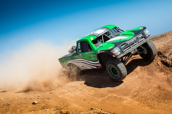 Luke Johnson to Pilot-All-Wheel-Drive Trick Truck at Vegas to Reno