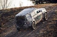 2020 land rover defender off road exterior rear quarter 02