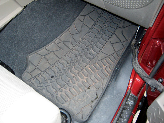 129 0808 11 z+2007 jeep jk parts+mopar slush mats