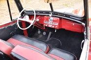 007 1951 willys overland jeepster interior dash board