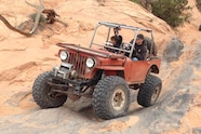 04 christian hazel flattie flexy suspension on flat iron mesa trail moab