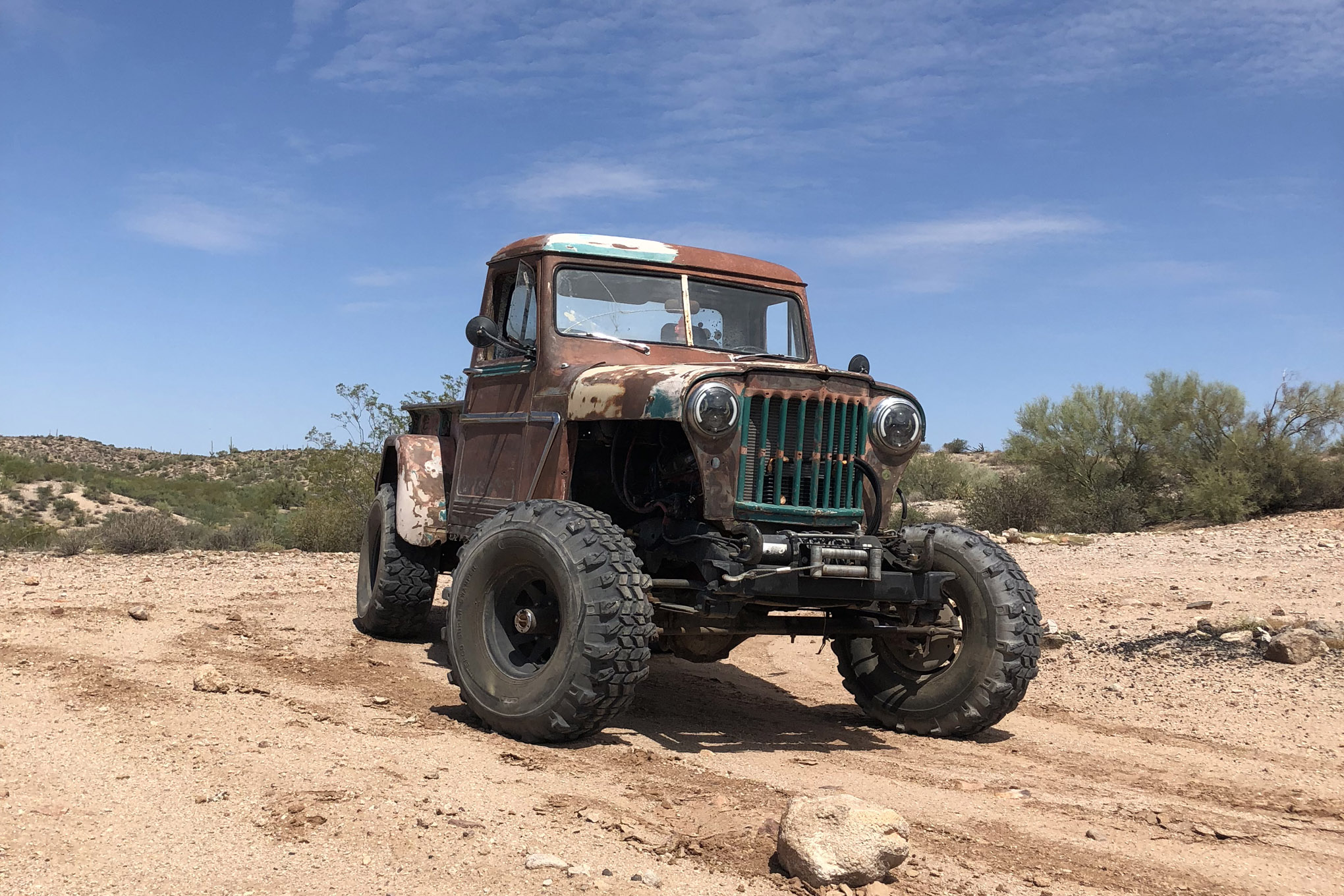 jeep shots sotello 54willys truck