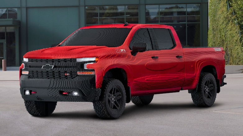 Chevrolet Makes Trail Boss Out Of Legos