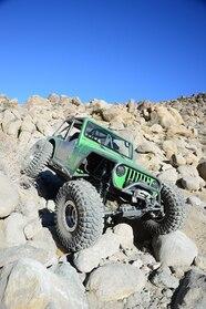 001 1998 jeep wrangler tj rockcrawler green ls gm v8 swap front lead