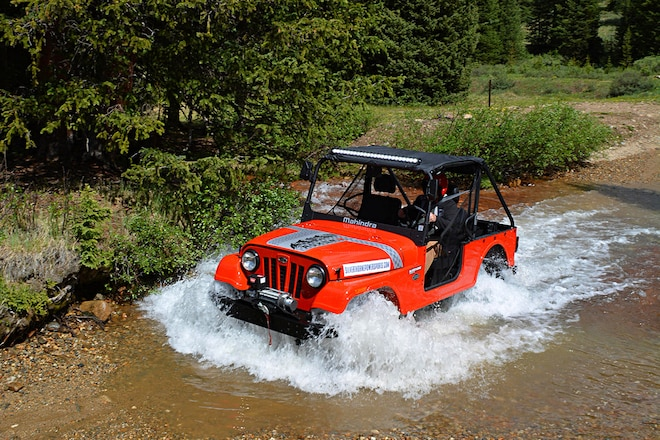 We Test Drive the Mahindra Roxor in the Rockies