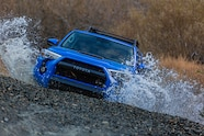 2019 suv of the year toyota 4Runner TRD pro crossing water