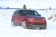2019 suv of the year range rover sport P400e in snow.JPG