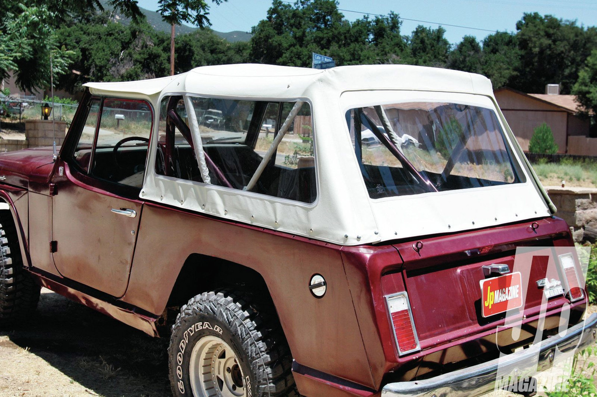 mailbag pete trasborg jeepster commando c101 soft top gregs 4wd extreme