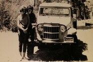 jeep reader rides sideways jeff bean 1962 willys vintage