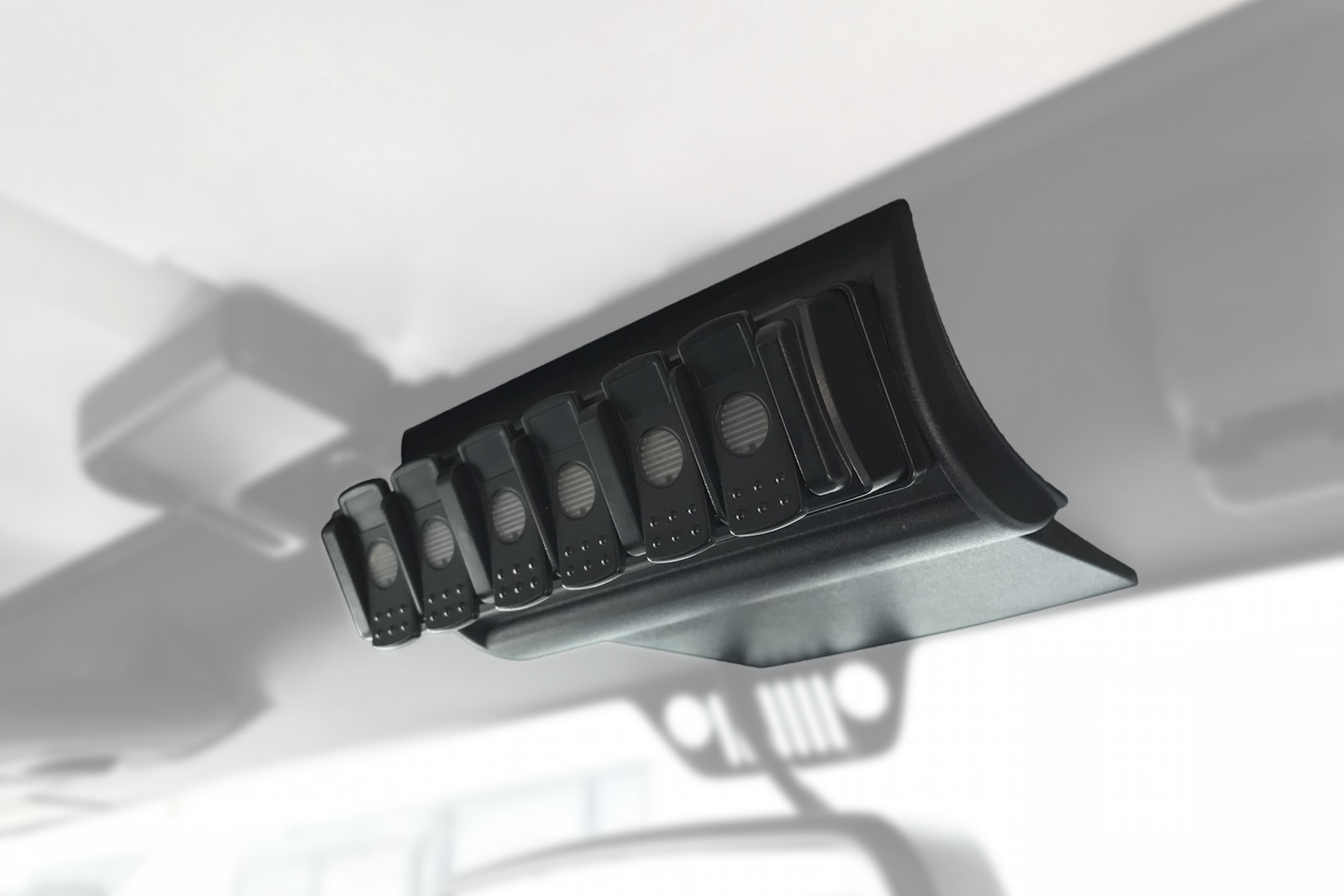 002 new products trigger jeep jk jl overhead console switch panel controller light six shooter