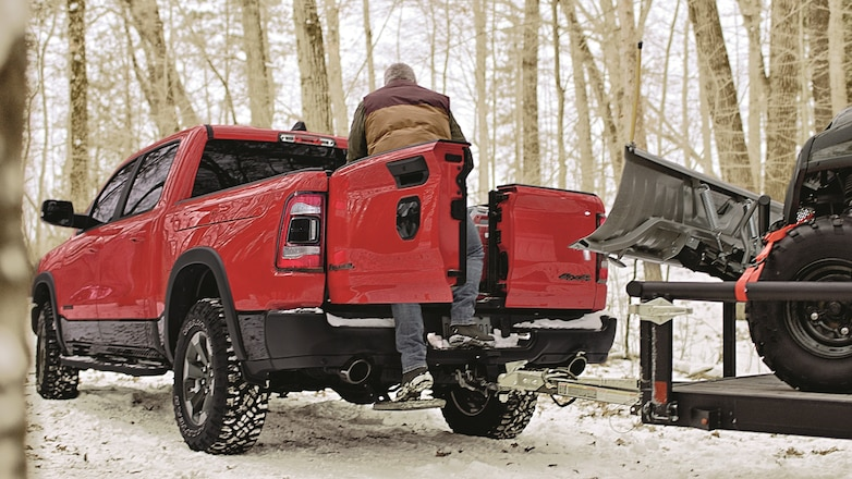 Ram Unveils Multifunction Split Tailgate Available on 2019 1500