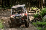 Maverick Sport MAX DPS   Can Am Red   Trail riding 2