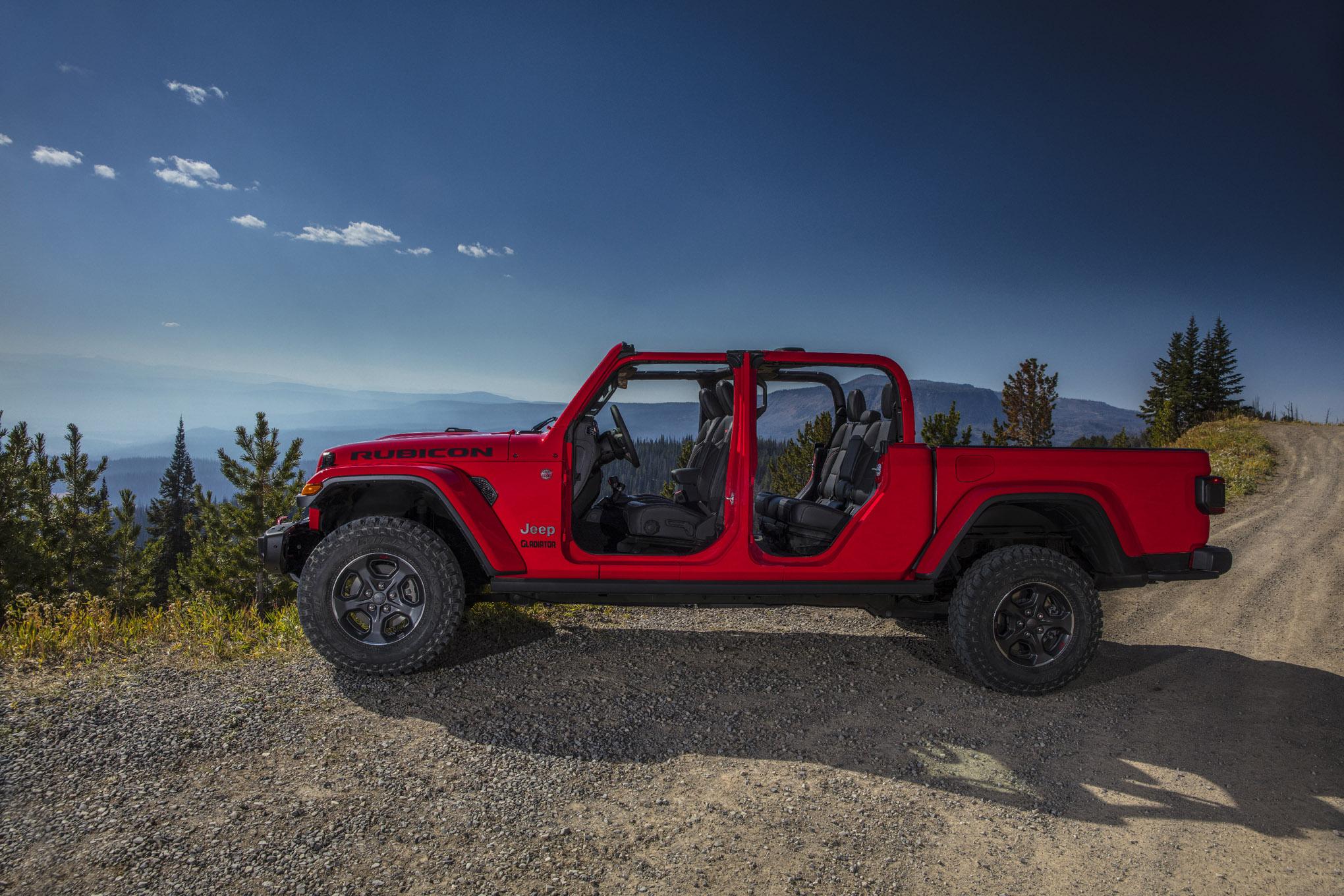 024 auto news four wheeler 2020 jeep gladiator side