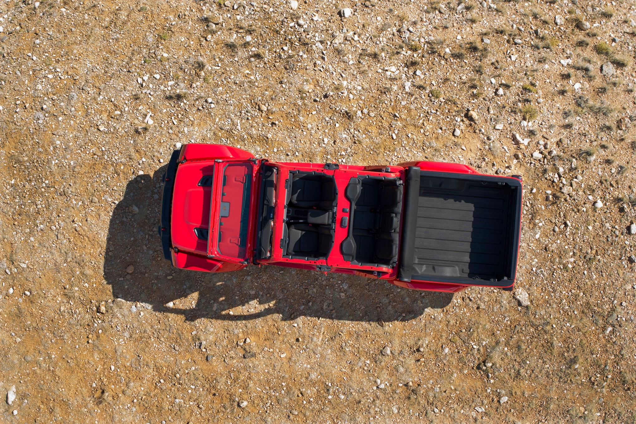025 auto news four wheeler 2020 jeep gladiator aerial