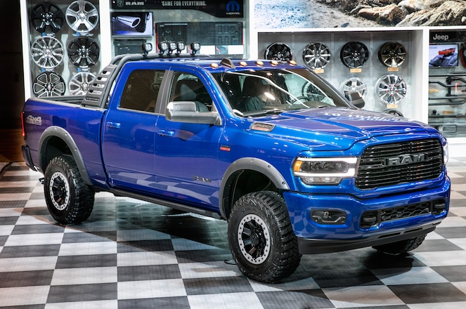2019 Chicago Auto Show – Mopar Shows Off Accessories for 2019 Ram Heavy Duty