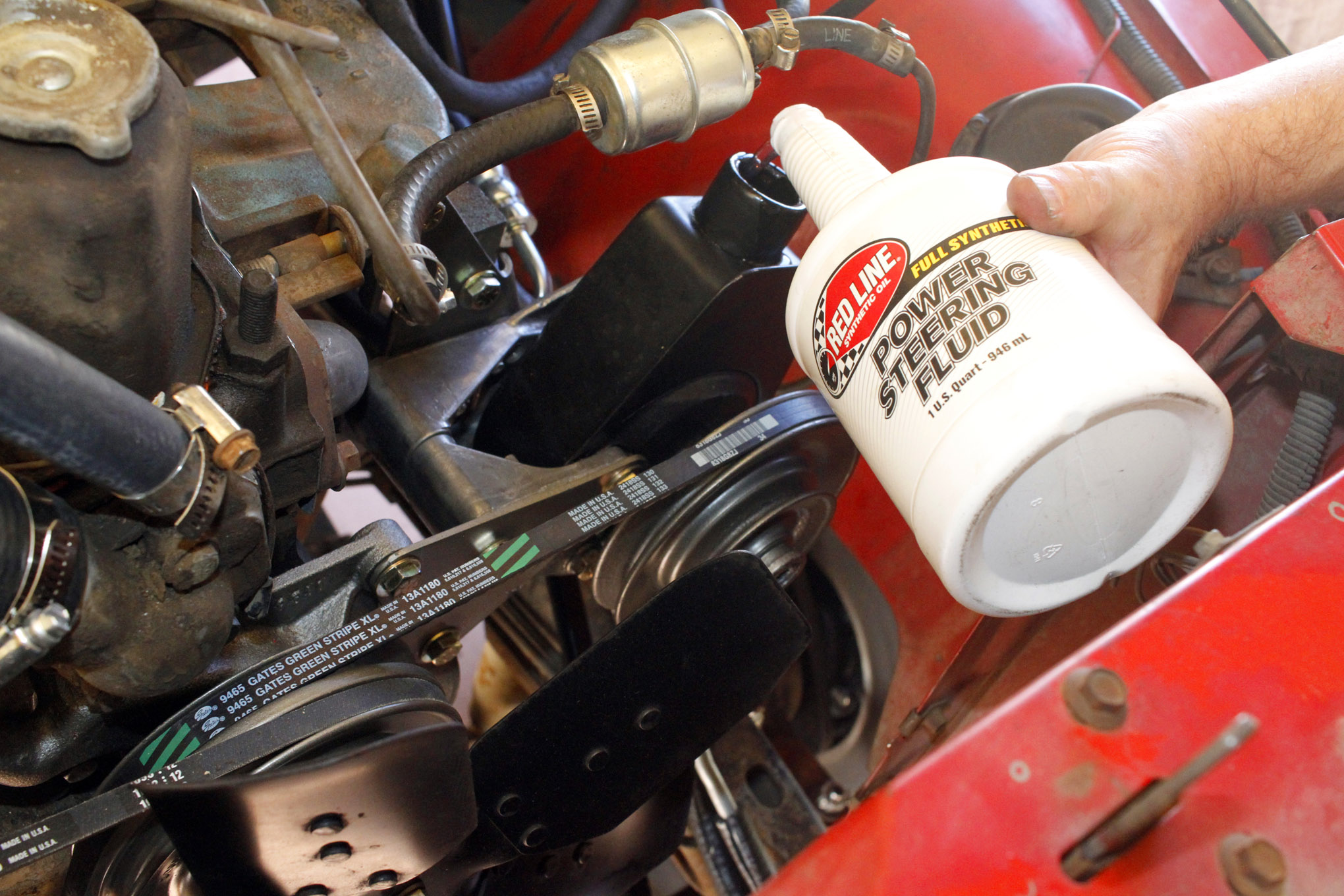 1976 cj 5 power steering upgrade lead
