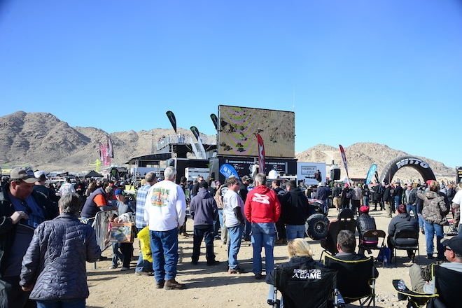 Lots to see at the 2016 King of the Hammers race event