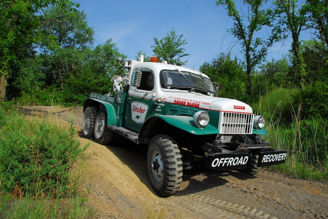 Backward Glances: A World War II Dodge 6x6 Finds a New Job