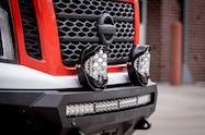 2018 nissan ultimate service titan xd exterior front bumper lighting