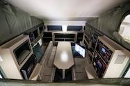 2018 nissan ultimate service titan xd interior bed box couch desk